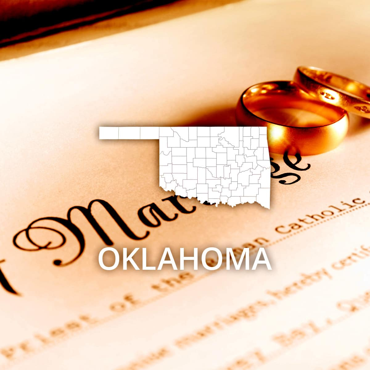 Where to Obtain an Oklahoma Marriage Certificate