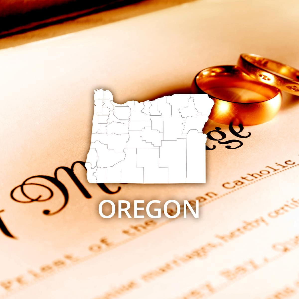 Where to Obtain an Oregon Marriage Certificate