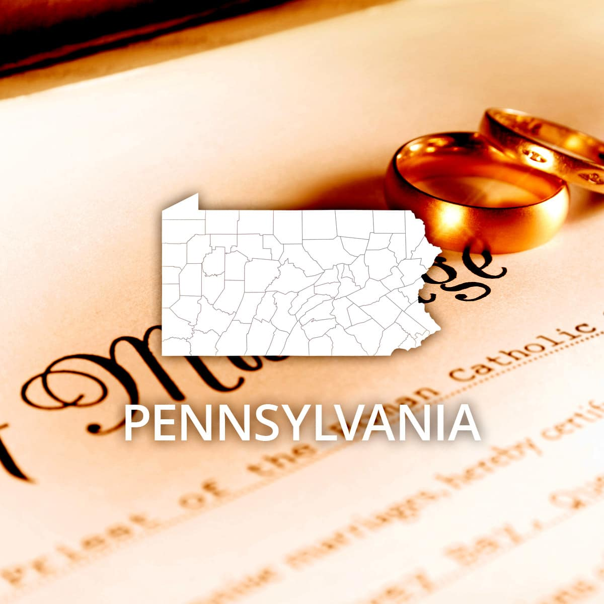 Where to Obtain a Pennsylvania Marriage Certificate