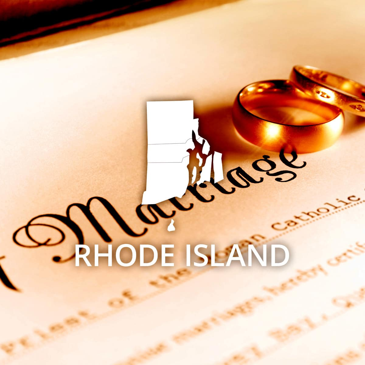 Where to Obtain a Rhode Island Marriage Certificate
