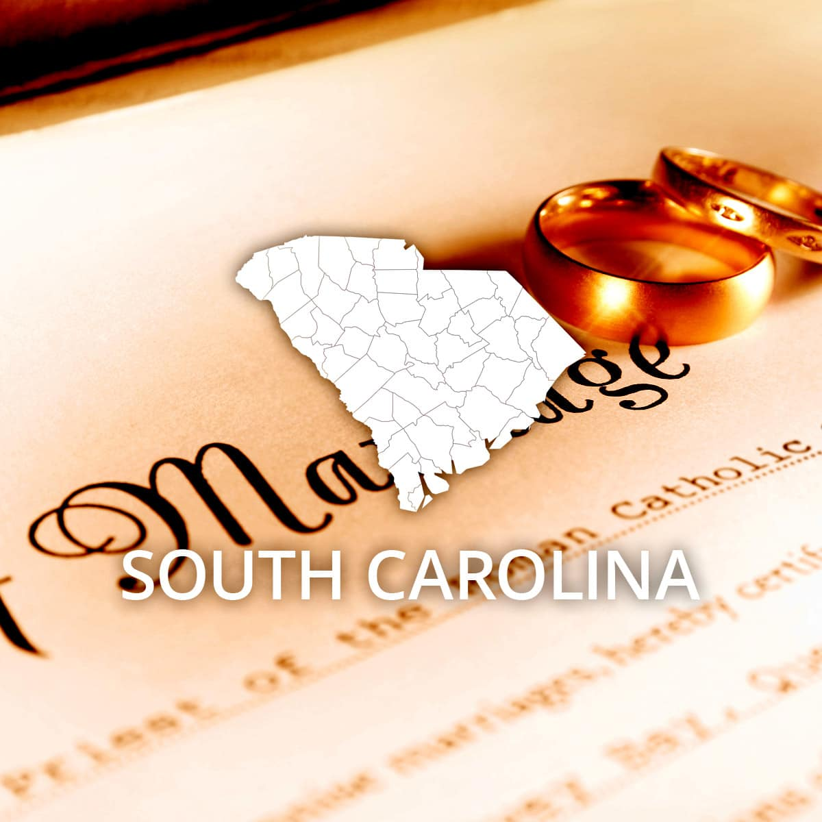 Where to Obtain a South Carolina Marriage Certificate