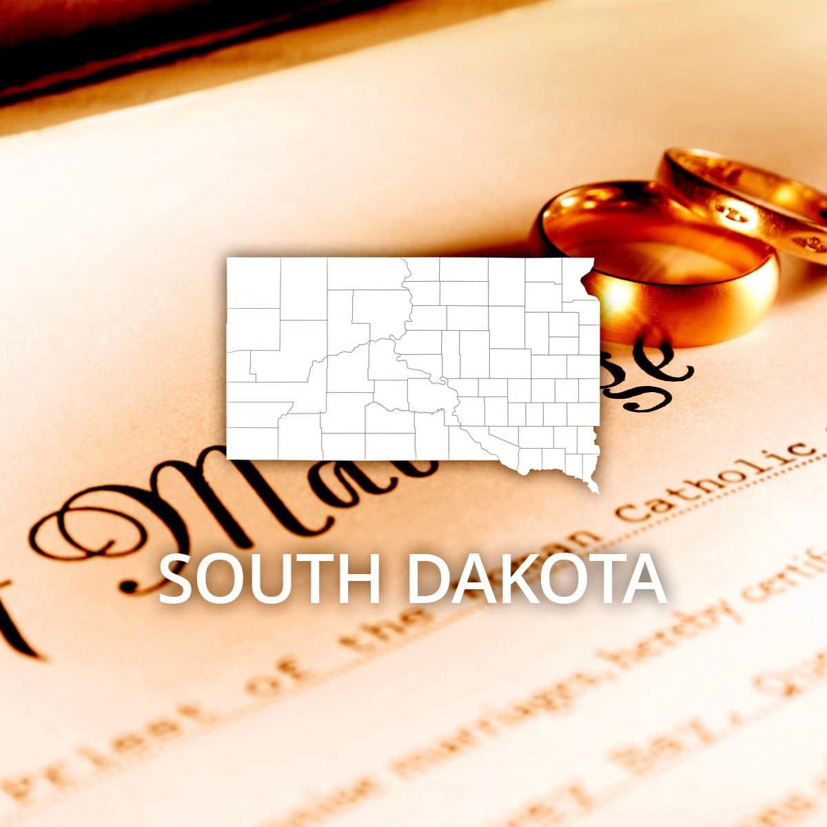 Where to Obtain a South Dakota Marriage Certificate