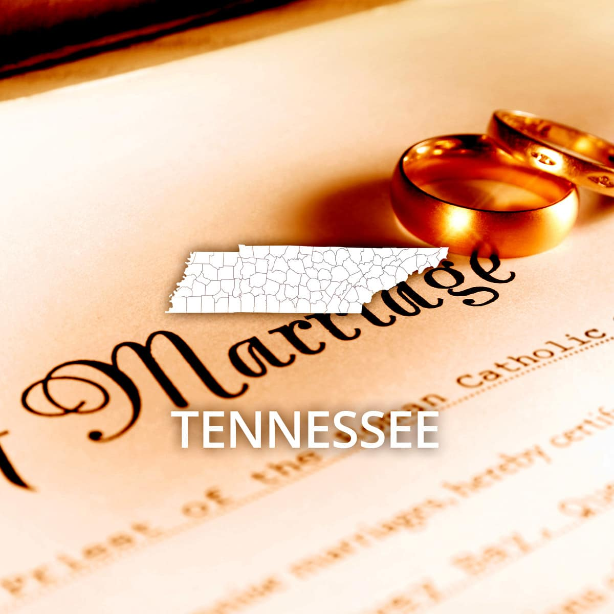 Where to Obtain a Tennessee Marriage Certificate