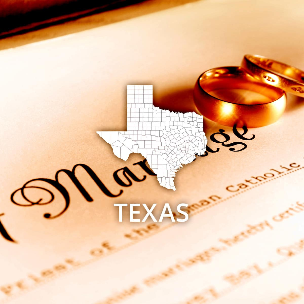 Where to Obtain a Texas Marriage Certificate