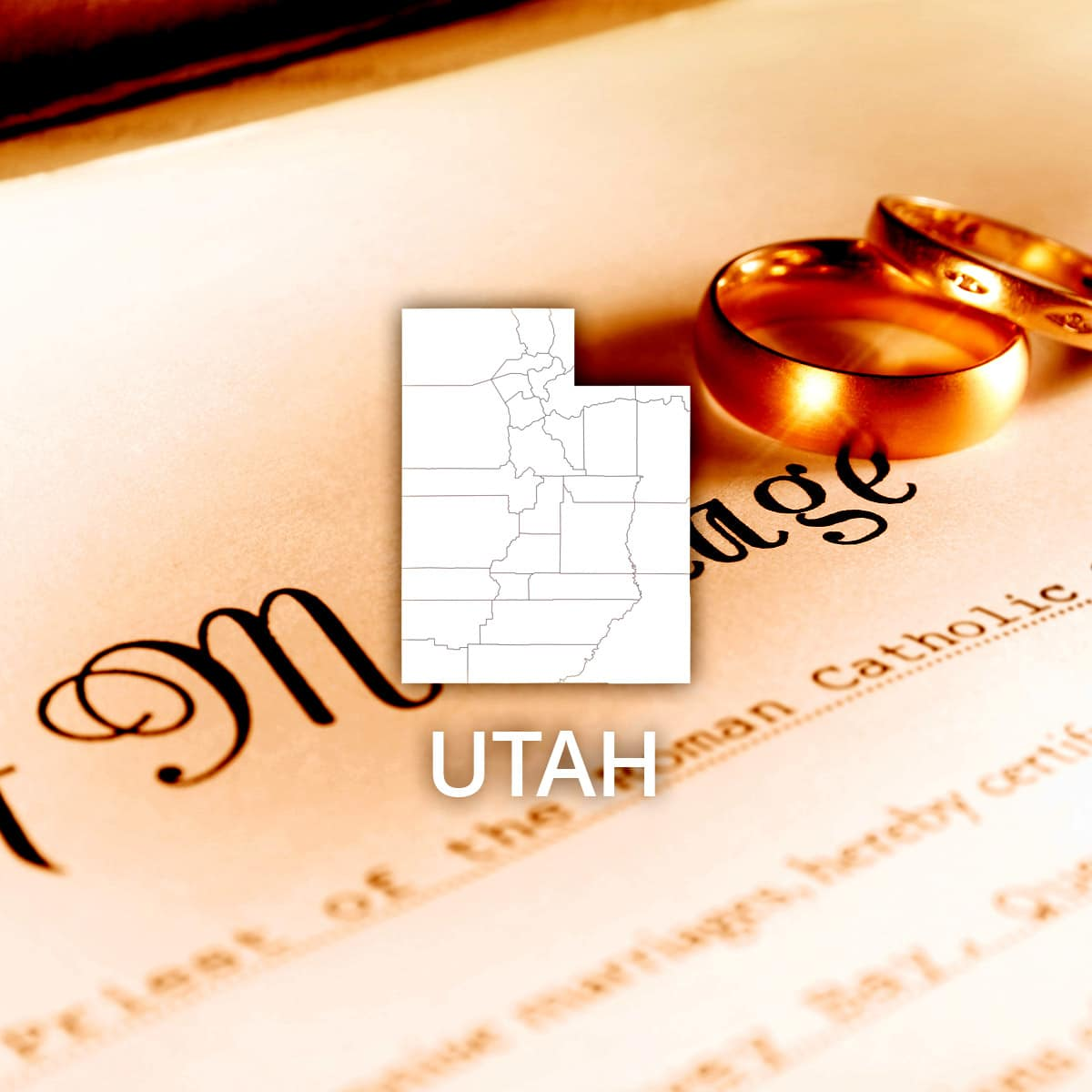 Where to Obtain a Utah Marriage Certificate