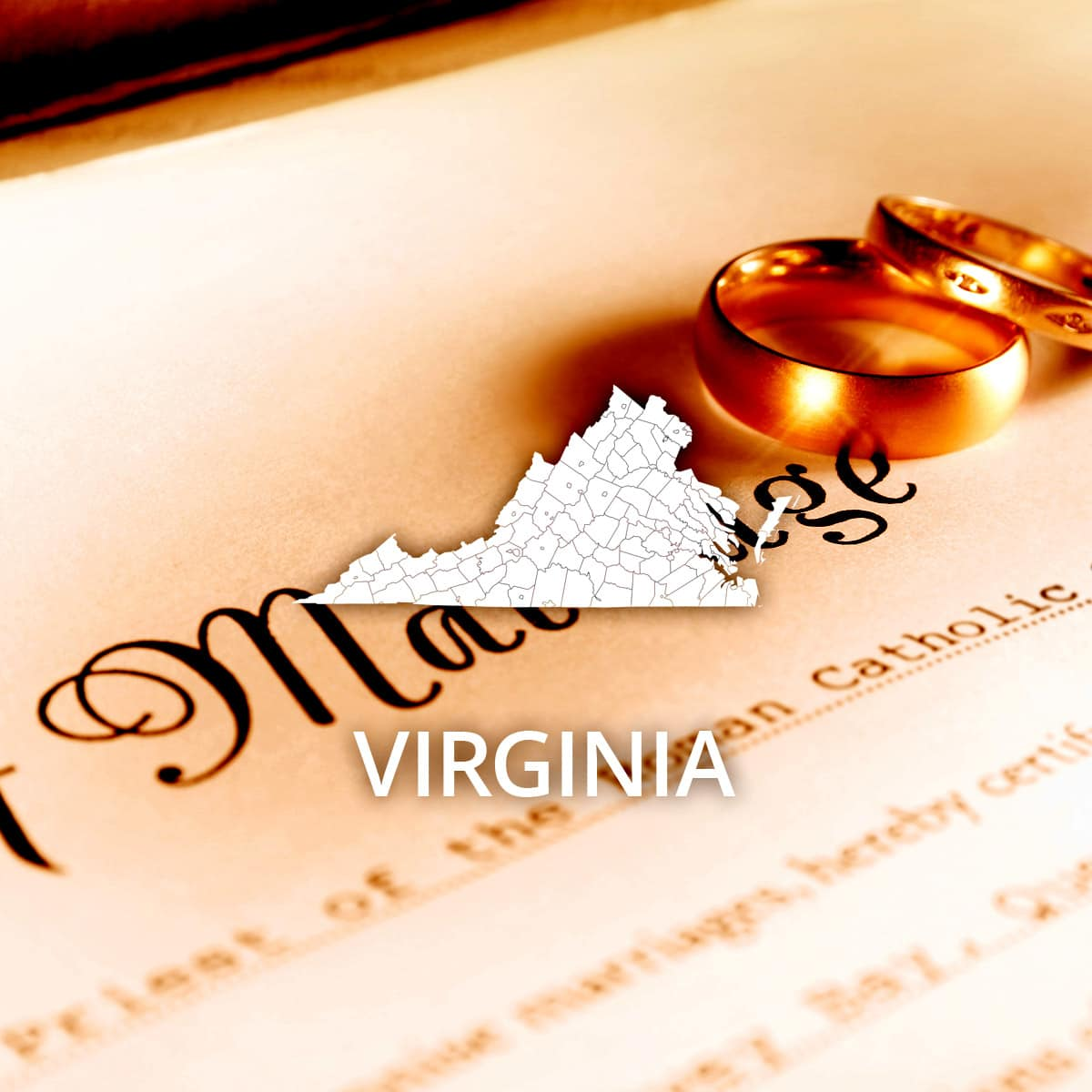 Where to Obtain a Virginia Marriage Certificate