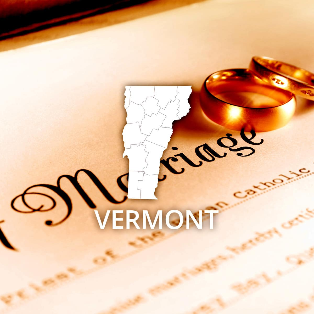 Where to Obtain a Vermont Marriage Certificate
