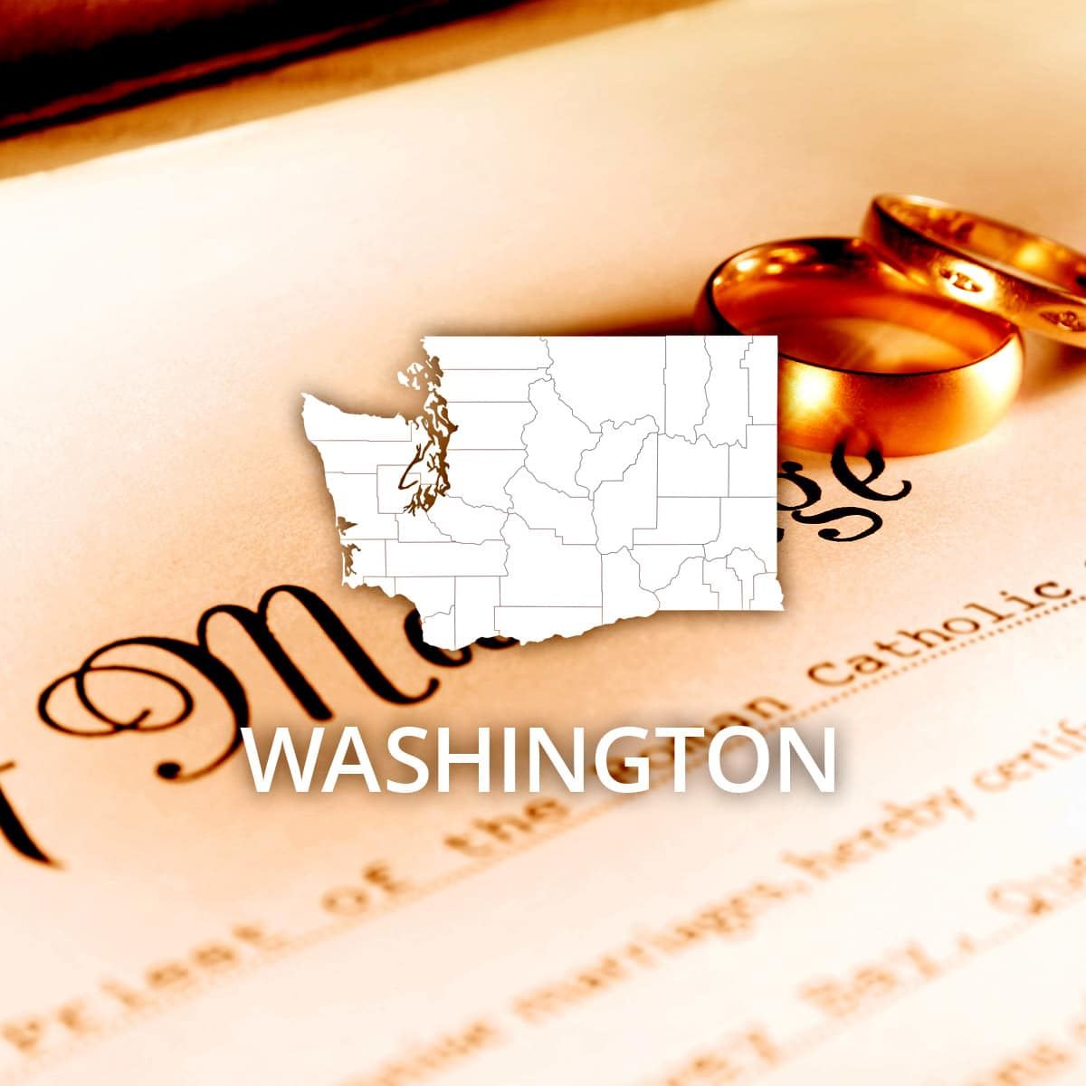 Where to Obtain a Washington Marriage Certificate