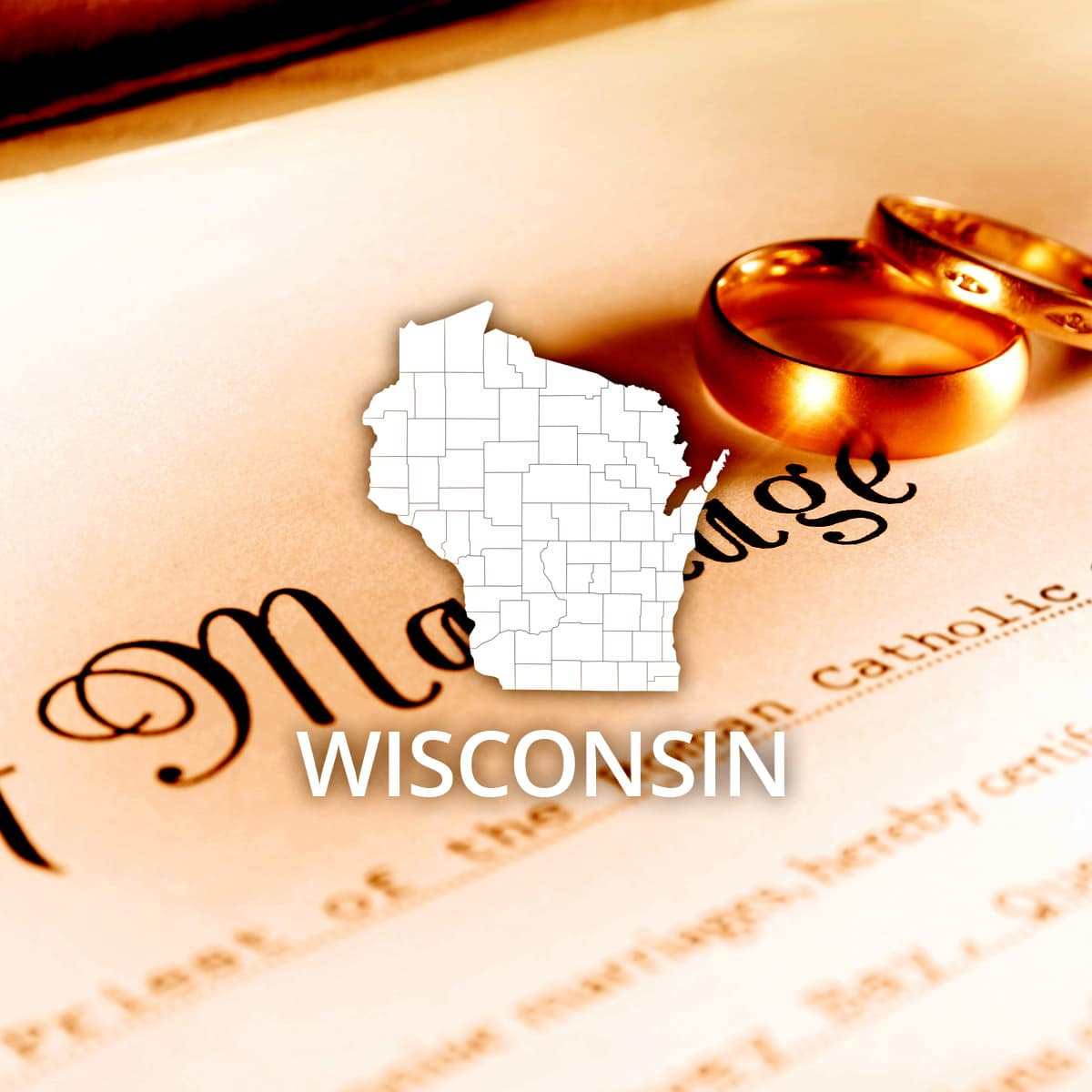 Where to Obtain a Wisconsin Marriage Certificate
