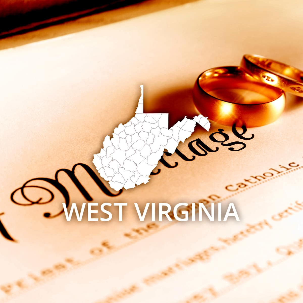 Where to Obtain a West Virginia Marriage Certificate