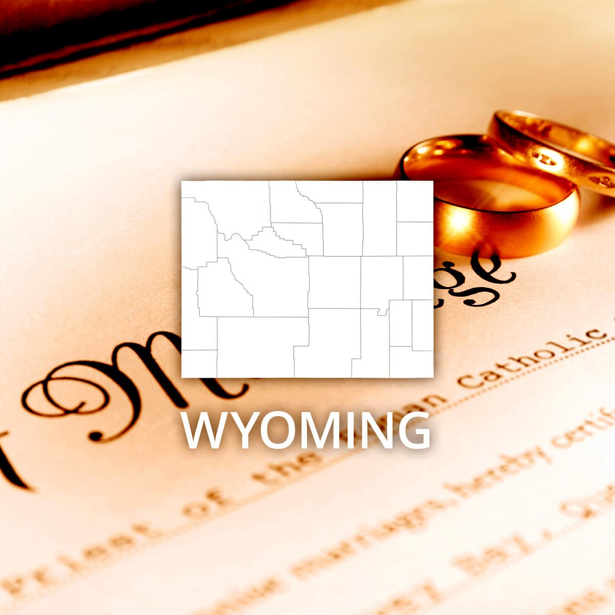 Where to Obtain a Wyoming Marriage Certificate