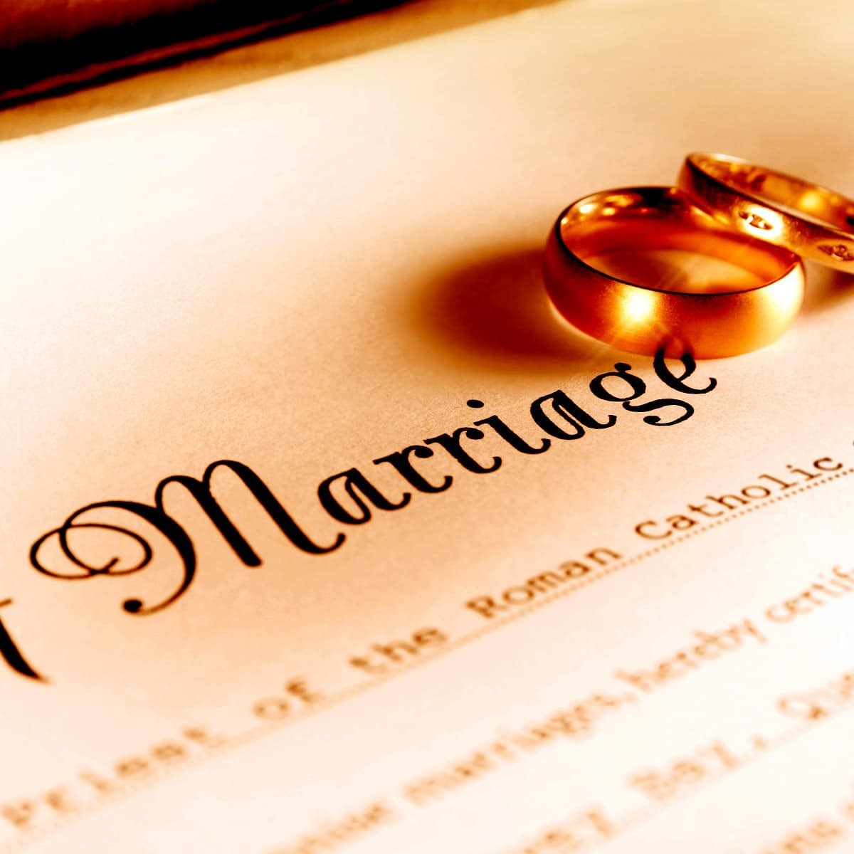 How to Obtain a Marriage Certificate